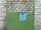 Металлическая калитка- дверь