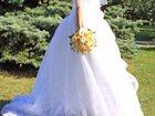 Изображение в   Продаю чудесное белоснежное свадебное платье в Энгельсе 16000