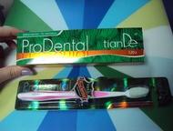 Зубная щетка с силиконовыми ворсинками Инновационная зубная щетка «Проденталь» о