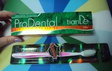 Зубная щетка с силиконовыми ворсинками