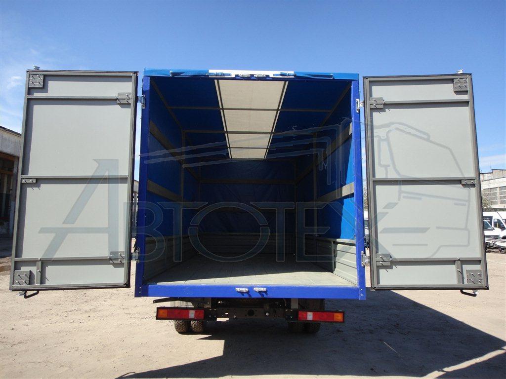 Как сделать двери на фургон