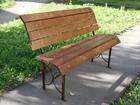 Свежее изображение Разное Скамейки садовые, парковые деревянные со спинкой и без 35478813 в Йошкар-Оле
