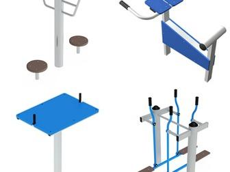 Скачать бесплатно foto  Уличные тренажеры на площадках 39969610 в Рязани