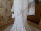 Изображение в Одежда и обувь, аксессуары Свадебные платья Продам элегантное кружевное свадебное платье. в Югорске 35000