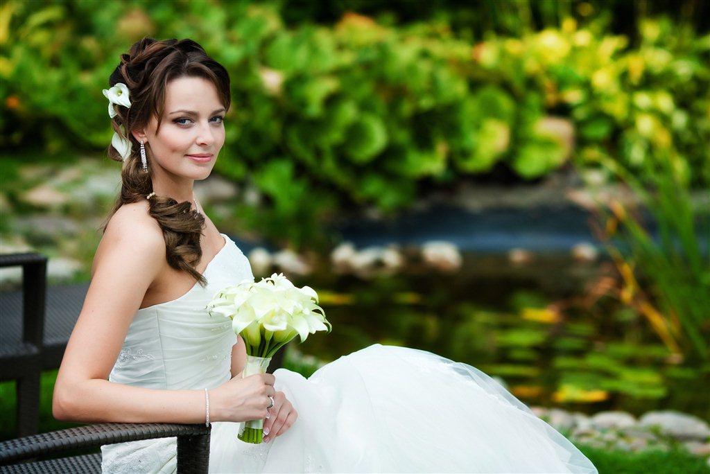 свадебный прическа калининград