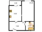 Многоквартирный жилой домрасположен в зоне жилой застройки