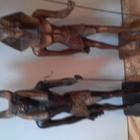 Cкульптура Анубис и Рамзес