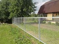 Kaчественный забор из рабицы и пр, сеток Рабица от профессионалов - забор на 100