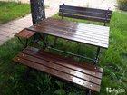 Садовая мебель (скамейки, столы)