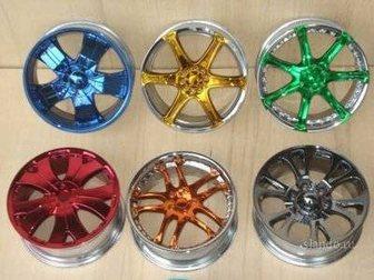 Скачать фото Тюнинг Хромирование автомобильных дисков, решеток 16266342 в Калуге