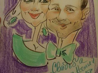 Просмотреть фото  Художник шаржист, портретист на свадьбу, выпускной, юбилей корпоратив 32924022 в Калуге