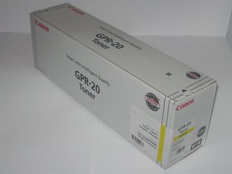 Скачать бесплатно фотографию Принтеры, картриджи Тонер-картридж Canon C-EXV16 / GPR-20 жёлтый 33764180 в Каменск-Уральске