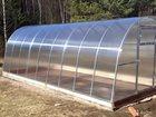 Foto в Строительство и ремонт Ландшафтный дизайн Цена теплицы из поликарбоната :   4 метра-17 в Ступино 17000