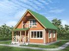 Уникальное фото Строительство домов Строительство домов из оцилиндрованного бревна 34287424 в Казани