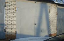 Новый кирпичный гараж