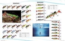 Приманки рыболовные, Мягкие и жесткие