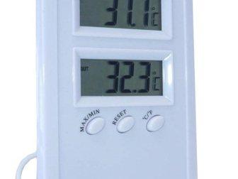 Новое фотографию Разное TM1005 комнатно-уличный термометр 32448109 в Казани