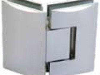 Новое фото Отделочные материалы Петли для стеклянных перегородок 34064339 в Казани
