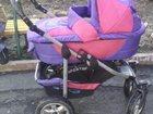 Изображение в Для детей Детские коляски Коляска 2в1! Люлька, прогулка. маскитка, в Кемерово 3500