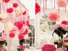 Скачать foto  Стильное оформление торжества бумажными цветами, 33347632 в Кемерово