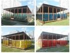 Новое фотографию  Теневой навес (веранда) деревянный 56077125 в Кемерово