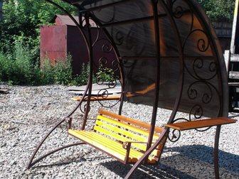 Новое изображение Мебель для дачи и сада Качели садовые кованые 33040795 в Кемерово