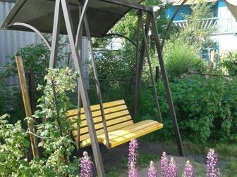 Скачать фото Мебель для дачи и сада Качели садовые кованые 33040795 в Кемерово