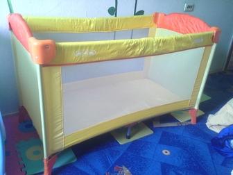 Увидеть фото Мебель для детей кровать-манеж 37751773 в Кемерово