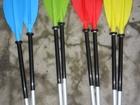 Смотреть изображение  Разборное двухсекционное весло для байдарок и каяков, Весло отличается высокой прочностью, штифт Дюраль-алюминий, лопасти пластик усиленный карбоновым волокном, 69518612 в Киеве