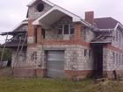 Продаётся недостроенный 3-х этажный дом на участке 22 сотки