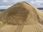 Уникальное фото Сыпучие материалы Карьерный песок в Коломне с доставкой, 40274362 в Коломне