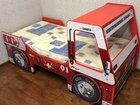 Кровати-машинки (с кабиной) Пожарная и Полицейская