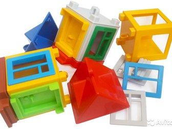 В Колпино, Машина от 300руб, Домики для подъемного крана (башенный кран), В набор конструктора Панельный дом (производитель Форма) входят: 3 детали в форме кубиков, в Колпино