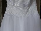 Изображение в Одежда и обувь, аксессуары Свадебные платья Продам свадебное платье 46-й размер, одевалось в Коркино 7000