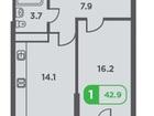 Уникальное foto Квартиры в новостройках Продам 1 ую квартиру в ЖК Трилогия 37311964 в Краснодаре