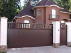 Фото в   Продажа откатных ворот и их монтаж является в Краснодаре 36000