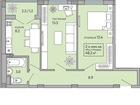 Фото в Недвижимость Разное 3 ком. кв. 55 м2 общая пл. , 36 м2 жилая, в Краснодаре 1870000