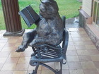 Новое фотографию  Скульптура креативная из металлаУченый кот 63216263 в Краснодаре