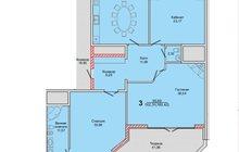 Видовая трехкомнатная квартира 180 квадратных метров, Свидетельство