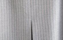 Стильная юбка серая в полоску, р, 48, Германия