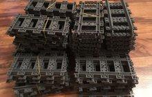 Прямые рельсы Лего