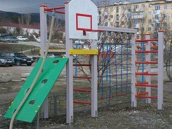 Просмотреть фотографию Детские игрушки Детские игровые и спортивные комплексы, качели,горки,карусели,песочницы,беседки,домики ,скамейки и 32386585 в Краснодаре