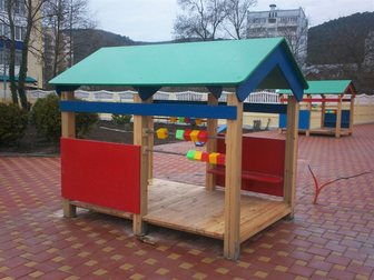 Смотреть foto Детские игрушки Детские игровые и спортивные комплексы, качели,горки,карусели,песочницы,беседки,домики ,скамейки и 32386585 в Краснодаре