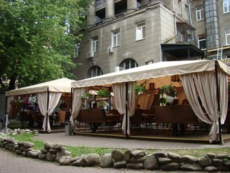 Просмотреть фото  Шатры для летних кафе – максимум комфорта при минимуме затрат! 32457689 в Краснодаре