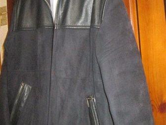 Просмотреть foto  Куртка мужская замшевая, чёрная, р, 50-52, Корея, 33811029 в Краснодаре