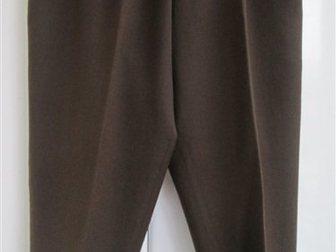 Новое foto Женская одежда Брюки женские коричневые, шерсть, Германия, р, 50 33846653 в Краснодаре