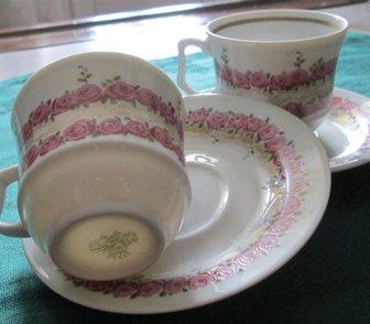 Изображение в Мебель и интерьер Антиквариат, предметы искусства Пара антикварных кофейных чашек из тончайшего в Краснодаре 2000