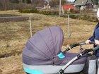 Детская коляска 2 в 1 бу