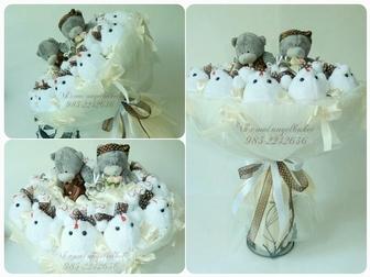 Свежее foto Разное Свадебные букеты из мягких игрушек Красногорск 32210235 в Красногорске