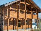 Уникальное фото Строительство домов Сруб бани, дома 9х9 из профилированного бруса 150х150 под крышу 58736304 в Красноярске